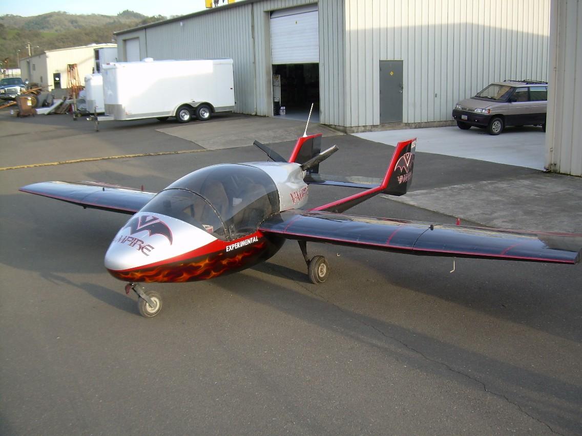 Sadler Vampire, Sadler Vampire lightsport aircraft, Sadler Vampire