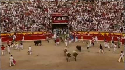 Pamplona - Nove feriti in totale alla Festa di San Firmino (15.07.10) | PopScreen