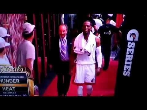 Hey Mario, You Mother Phuka The Sh t They Say On Live TV After NBA Finals! (Dwayne Wade).flv | PopScreen