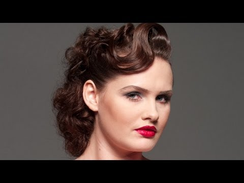 1940s Updo Instructions Step By Step With Photos   LONG HAIRSTYLES