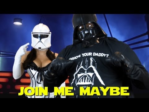 Call Me Maybe Parody By Darth Vader - Join Me Maybe - Mini-Geekody | PopScreen