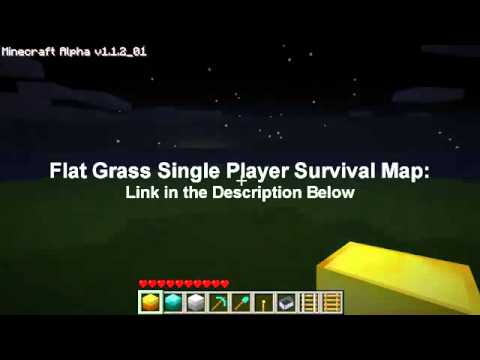 Minecraft Map- Flat Grass [DOWNLOAD LINK | PopScreen