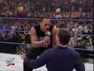 The Rock forced Vince McMahon to kiss ass | PopScreen