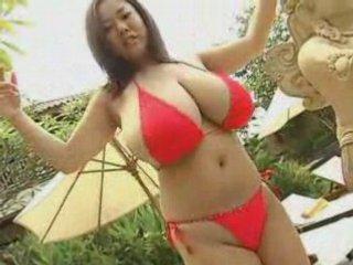 Busty asian bikini | PopScreen