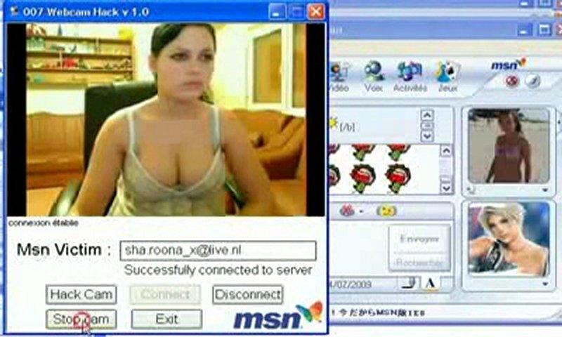 amateur cam msn web