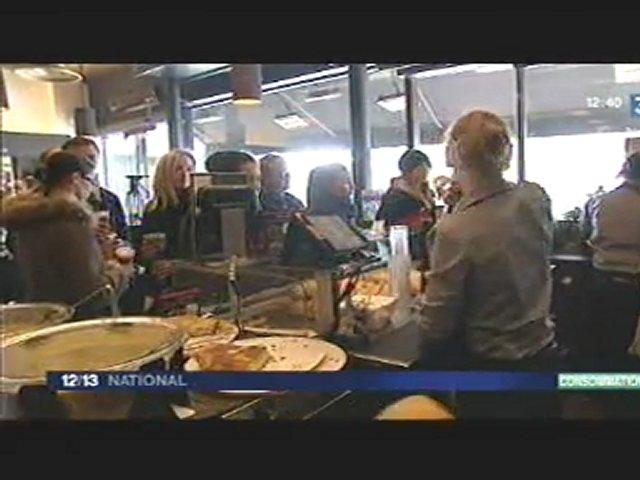 Reportage sur france 3 sur le salon du sandwich snack for Salon du sandwich