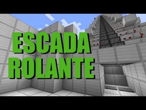 Escada rolante super rápida -  Minecraft Tutorial 20 | PopScreen