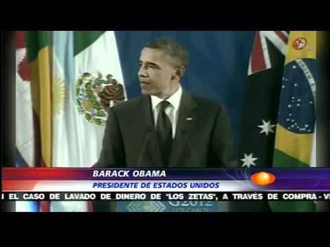 Termina Cumbre G20 - Obama se despide de Calderón - Aviones de los Presidentes | PopScreen