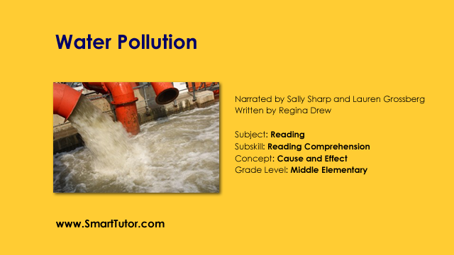 causes and effects of water pollution essay Industrial water pollution is caused by the discharge of harmful chemicals and  compounds into water, which makes it unsuitable for drinking and other purposes.