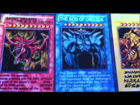 Yu-Gi-Oh Orica - The God Cards and Contest Giveaway | PopScreen