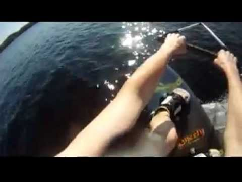 First Wakeboard Run of 2012 | PopScreen