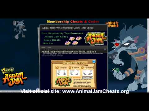 Animal Jam Codes for FREE Membership 2012 | PopScreen