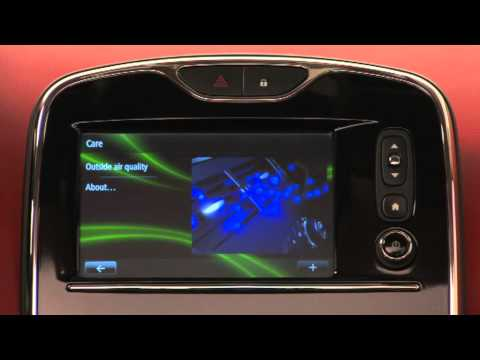 New 2013 Renault Clio R-Link Media System | PopScreen