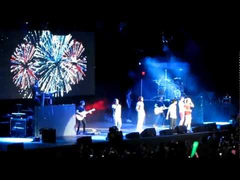 One Direction Moments Tampa Concert June 29, 2012 | PopScreen