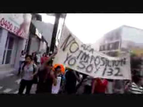 Elecciones (FRAUDE) 2012 Protesta en Monterrey contra Peña Nieto | PopScreen