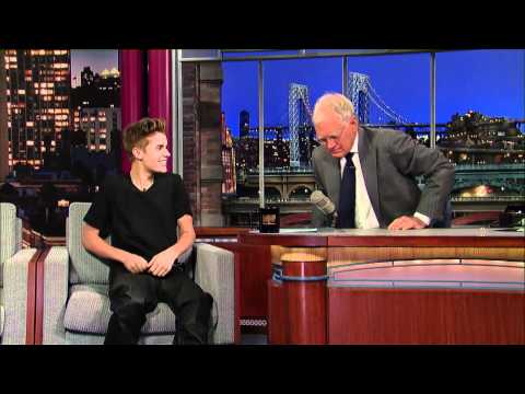 David Letterman - Justin Bieber's New Tattoo | PopScreen