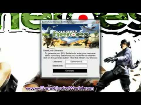Battlefield Heroes Battlefunds Generator 2012 latest updated ...