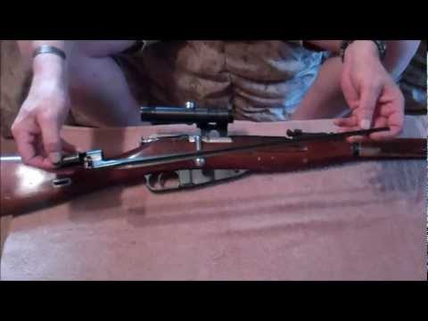 Field Strip Mosin Nagant M9130 using Bayonet.wmv | PopScreen