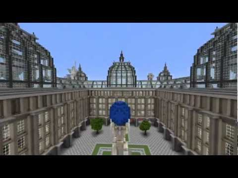 huge minecraft map