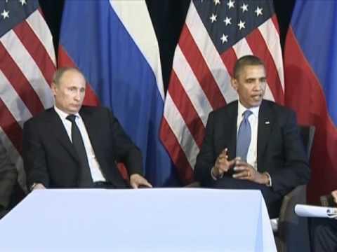 President Putin & Obama 2012 Путин и Обама | PopScreen