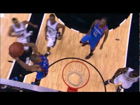 kevin durant to russell westbrook alleyoop popscreen