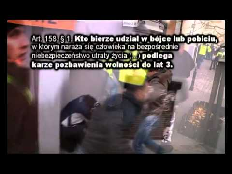 Daniel Kloc BRUTALNIE SKATOWANY przez milicjanta Andrzeja Czajkę | PopScreen
