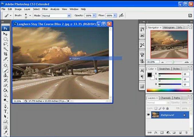 Learn Photoshop CS3 تعليم فوتوشوب - واجهة البرنامج | PopScreen