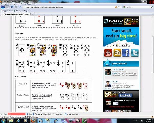 Texas holdem poker tutorial