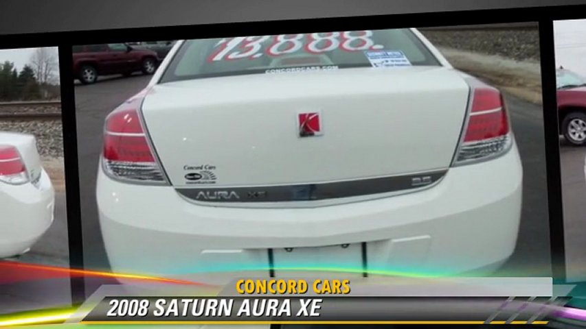 2008 SATURN AURA XE - Concord Cars, Elkhart | PopScreen