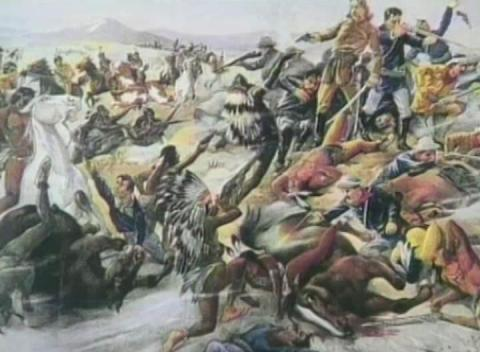 an analysis of the relationship between the indians and the white settlers in america Colonial conflict between the native americans and the colonists there is a continuous interest in the indians who inhabited these parts prior to the coming.
