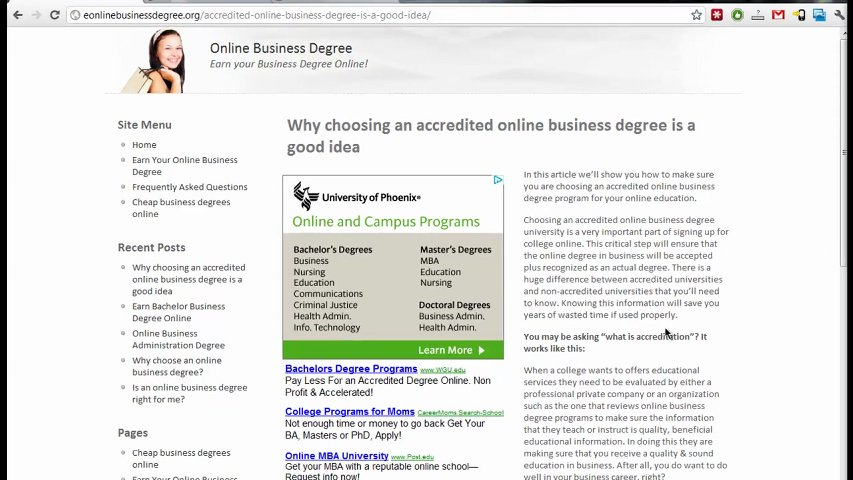Online essay services degrees accredited