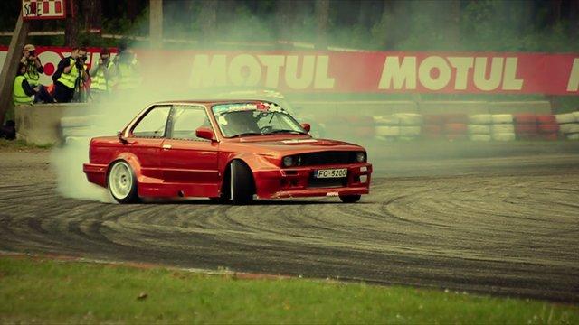 Eastern European Drift Championship Latvia | PopScreen