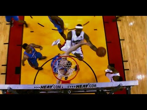 The Heat Beat the Thunder - Game 4 2012 NBA Finals | PopScreen