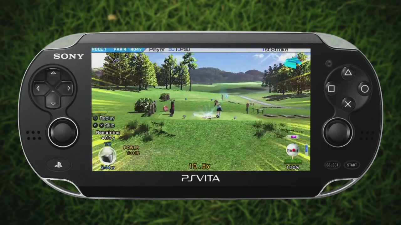Hot Shots (Everybody's)Golf Vita First Impressions