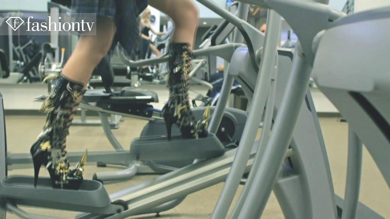 Models Hit The Gym in Fashion Film Drip for Idoll Mag