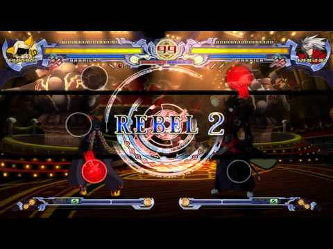 BlazBlue: Calamity Trigger Taokaka vs Ragna the Bloodedge