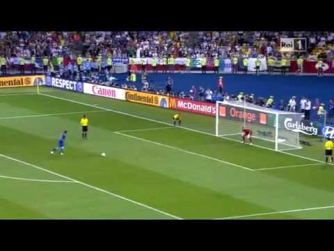 Rigore cucchiaio di Pirlo Italia Inghilterra 2012_ | PopScreen