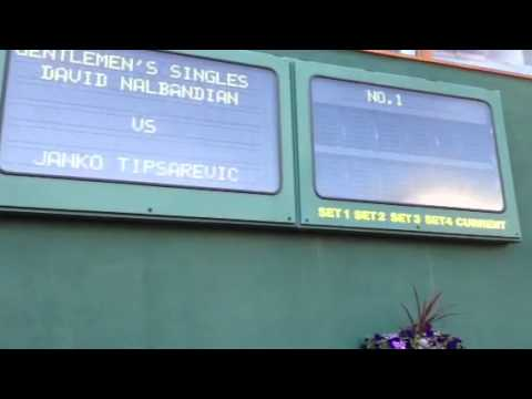Uno sguardo a Wimbledon, il primo giorno di scuola | PopScreen