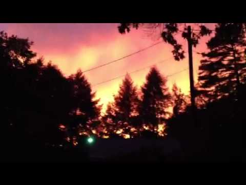 West Virginia Amazing Sunset on June 29, 2012 | PopScreen