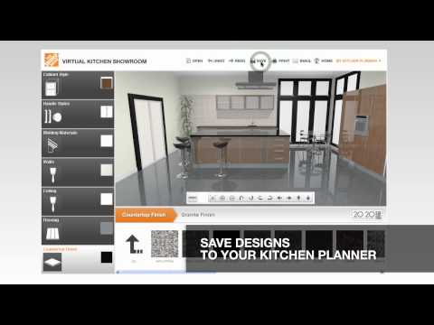 Virtual Kitchen Planner Delectable Of Home Depot Virtual Kitchen Showroom Photos