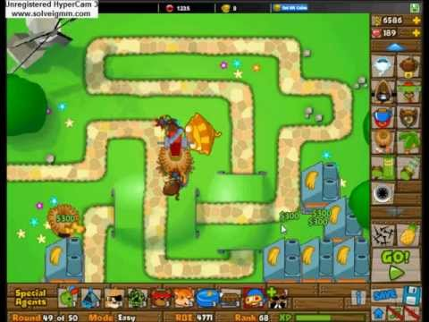 Bloons Tower Defense Monkey Lane Freeplay Easy Popscreen