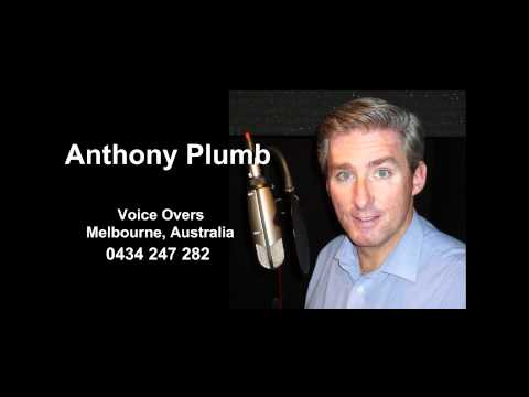 Anthony Plumb Voice Over Demo | PopScreen
