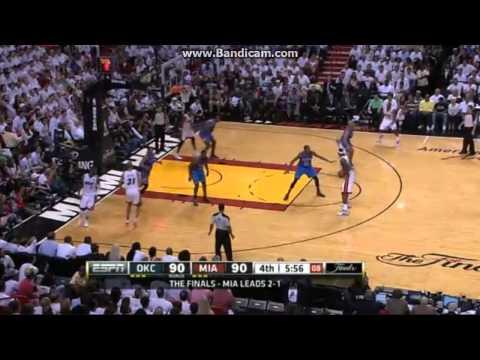 【NBA】ファイナル4試合目、W2位サンダーvsE2位ヒート(2012/06/20) | PopScreen