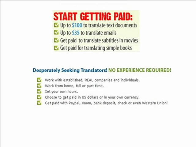 Portal for translators and translation agencies Page 263