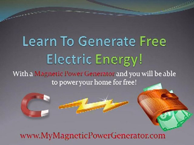 Magnetic Power Generator Guide | PopScreen