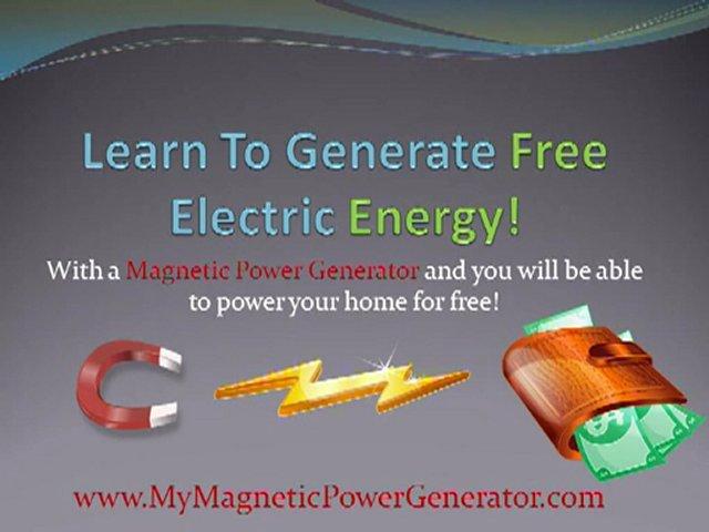 Magnetic Power Generator Guide | PopScreen