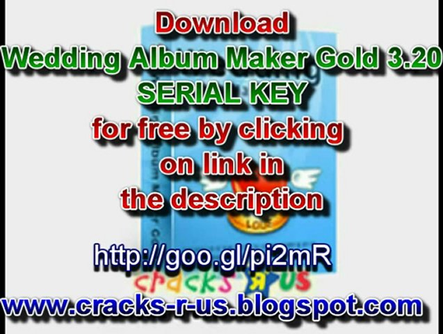 Wedding Album Maker Gold 3.20 Serial key free download