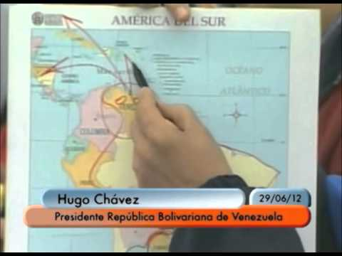 Presidente Chávez: la ubicación geográfica de Venezuela es una fortaleza en Mercosur | PopScreen