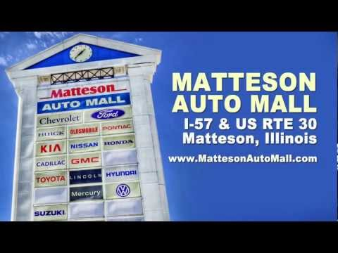 Matteson Auto Mall at I-57 and US 30 near Chicago | PopScreen