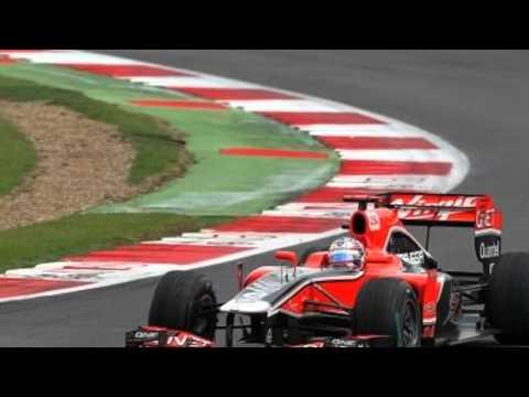 F1 Marussia driver Maria de Villota in Duxford crash | PopScreen